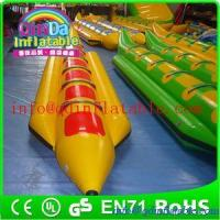 Buy cheap Exciting Inflatable Water Boat Single Lane Inflatable Banana Boat For Adult from wholesalers
