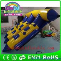 Buy cheap QinDa Inflatable Flying Fish Tube Inflatable Flying Towable inflatable banana boat flyfish from wholesalers