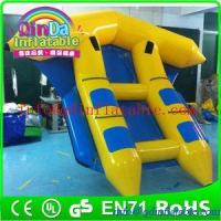 Buy cheap Funny inflatable flyfish boat water park boat for leisure water sport game from wholesalers