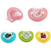 China Colorful Cartoon Born Free Bottles Silicone Pacifier A-1082 on sale