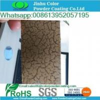 Cheap crack silver copper gold powder coating for sale