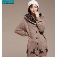 Best Pullover hooded cardigan coat womens christmas sweaters wholesale