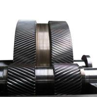 Buy cheap Mechanical Gears China Double Helical Gear Contract Manufacturing Model from wholesalers