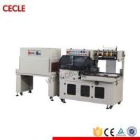 China Packing machine High speed sealer and cutter wrap machine wine bottle sleeve wrap shrink machine on sale