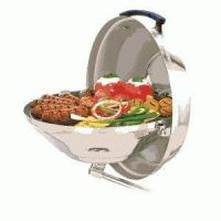 China Cooking Magma Marine Hinged Lid Kettle Stainless Steel Charcoal Grill on sale