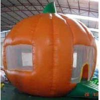 Best Round orange Inflatable Outdoor Yard Party Tent For Trading Show wholesale