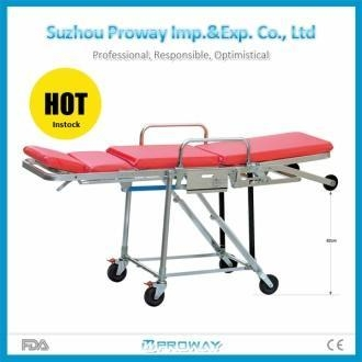 Cheap Stretcher Hot Seller PWS-3D Chair Style Aluminum Alloy Ambulance Stretcher for sale