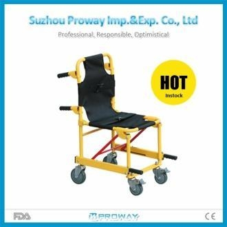 Cheap Stretcher CE&FDA Approved PWS-5M Aluminum Alloy Stair Stretcher for sale