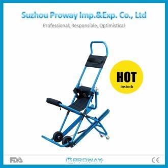 Cheap Stretcher CE & FDA Approved PWS-5P High Building Aluminum Alloy Stair Stretcher for sale