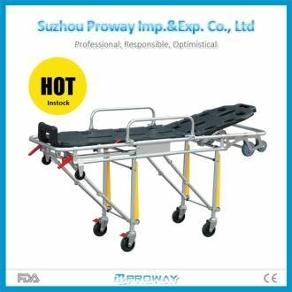 Cheap Stretcher CE&FDA Approved PWS-3A Stainless Steel Ambulance Stretcher for sale
