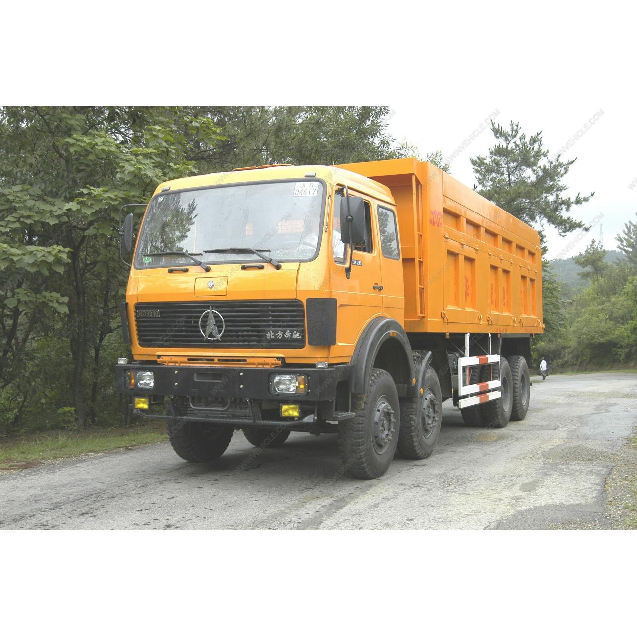 Buy cheap North Benz 8x4 Dump Truck from wholesalers