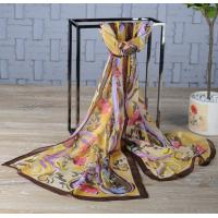 Best Custom Silk Scarf Custom Print Silk Shawl Manufacturer wholesale