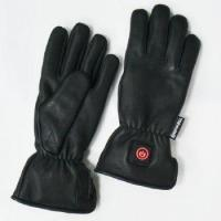 Buy cheap 3.7V ELECTRONIC HEATED LEATHER GLOVES with 5 finger heaters from wholesalers