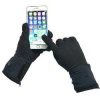 Buy cheap 7.4V HEATED LINER GLOVES with 5 finger heaters & LED button from wholesalers