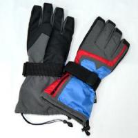 Buy cheap 3.7V HEATED SKI GLOVES with 5 finger heaters from wholesalers