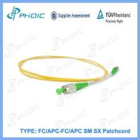 Best Fiber Optic Patch cord FC/APC-FC/APC SM SX Patchcord wholesale