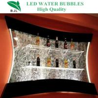Best wall hanging wine cabinet bar decoration wholesale