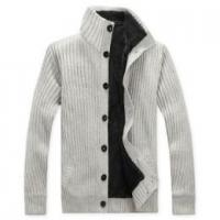 China Men's fleece lining sweater on sale