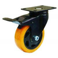 Best double bearing medium duty swivel caster with brake wholesale