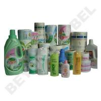 China custom household products label printing on sale