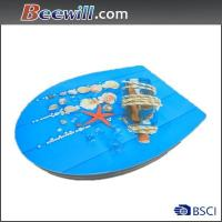 Best Beautiful high gloss decorated toilet seat wholesale