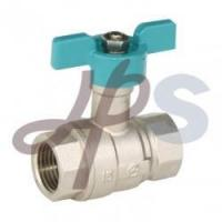 China butterfly handle ball valves on sale
