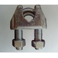 China US TYPE GALV MALLEABLE WIRE ROPE CLIP on sale