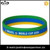 Best Mix color print silicone bracelet wholesale