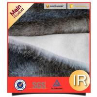 China high grade china golden supplier faux fur fabric long pile plush fabrics trimming parts of garments on sale