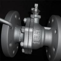 China Reduced Bore Ball Valve, RF, 300 LB, 4X3IN on sale