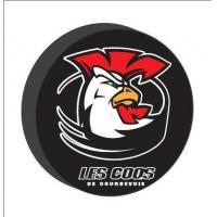 High Quality Logo Printing Rubber Ice Hockey Puck For Sport Events Product No.:HP010