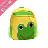 Frog school BackPack animal school bags 3D cartoon teenage bags
