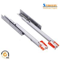 China 24 Full Extension Undermount Drawer Slides With Zinc Alloy Clip on sale