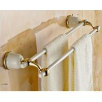 Best Towel Shelf Brass And SS Double Towel Bars wholesale