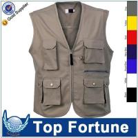 Best man Sleeveless cheap safety work vest wholesale