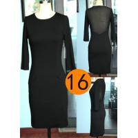 Buy cheap Spring women's fashion pullover dress latest lace dress for lady casual dress sexy summer veil dress from wholesalers