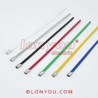 Best PVC Coated Ball-Lock Cable Ties wholesale