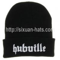 Best 3D Embroidered Beanie Hats Elegant ladies manufactured letters embroidered hat wholesale