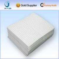 Best 100%pp dimppled oil absorbent pads/oil spill pads/ oil absorbent sheets wholesale