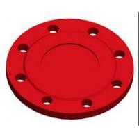 Best PN10/PN16 blank flange with zinc coating +bitumen painting wholesale