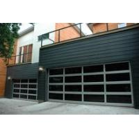 Best Automatic Frosted Tempered Glass Panels Aluminum Garage Door sale wholesale