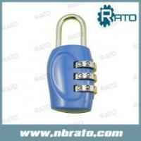 China RP-154 three dial keyless code lock for bag on sale