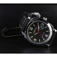 China black leather watch band Watch Band Thp-03 Leather Straps on sale