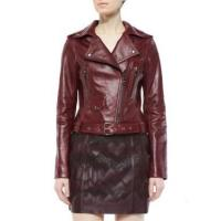 Best Leather Jacket Women Waxed Leather Jackets With Zipper wholesale