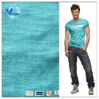China 100 Cotton Slub Single Jersey Knitted Fabric Wholesale for Garment or T shirt on sale