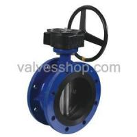 Buy cheap Wafer butterfly valve Rubber Flanged Butterfly Valve from wholesalers