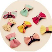 Best Newborns Thin Hair Bow Clips For Babies Hair Accessories wholesale