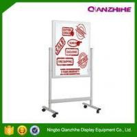 China outdoor display sign holder with wheels Pavement Signs on sale