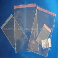 China Vacuum Bag Cellophane Bag With Strengthened Border on sale