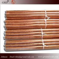 Best copper bonded ground rod/copper coated ground rod/copper clad steel ground rod wholesale
